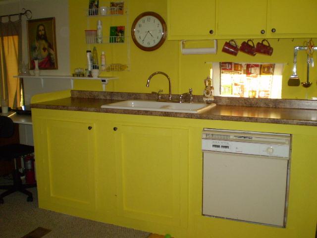 My Lemon Yellow Kitchen