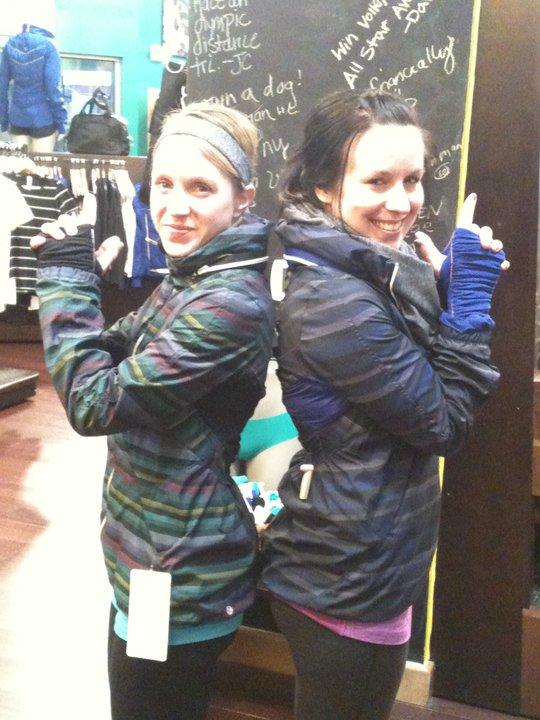 673112843c5 Lululemon Addict: NEW! Photo of the Wish Blue Stripe Hustle Jacket