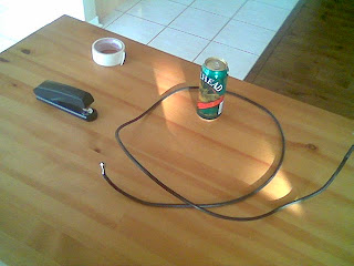 DIY TV Antenna: How to build TV antenna from a beer can  DIY