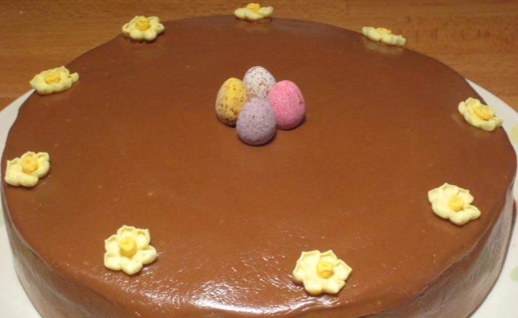 Caramel Cake Recipe Joy Of Baking: The Goddess's Kitchen ♥: Chocca Mocca Caramel Easter Cake