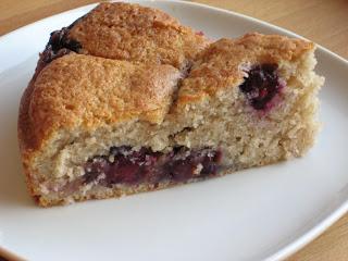 The Goddess's Kitchen ♥: Warm Cinnamon-Spiced Blueberry Cake