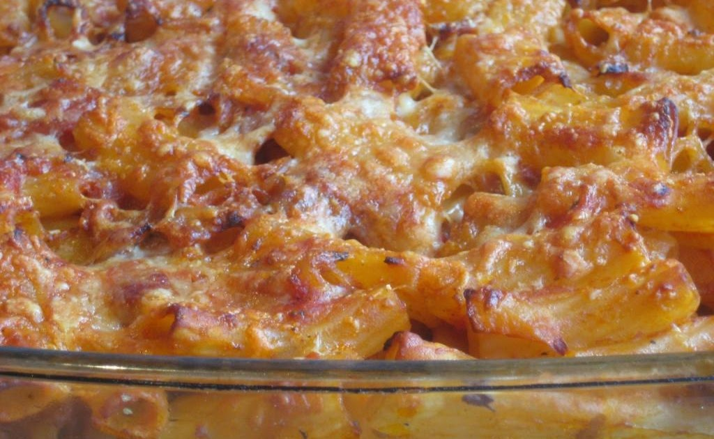 The Goddess's Kitchen ♥: Baked Pasta with Sausages ...