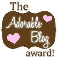 The Adorable Blog Award!