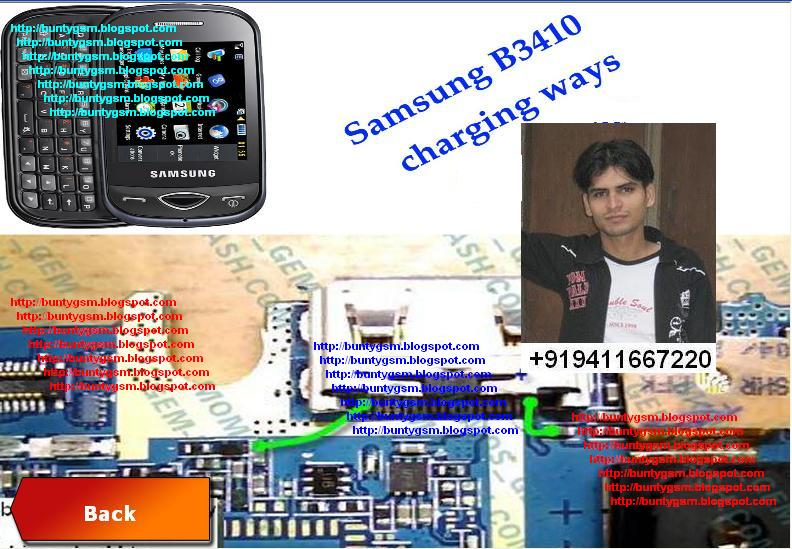 Samsung b3410 charging ways