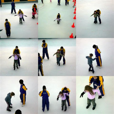 accfdebbdca I took the girls for their first ever try at Ice Skating