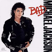 The cover to Michael Jackson's 1987 album Bad