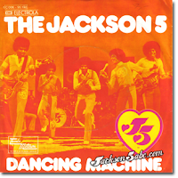 The Jackson Five manage to squeeze one more hit with Dancing Machine in 1974-Reaching #! on the R&B Singles Charts