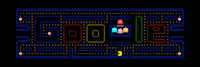 Google's way of celebrating Pacman's 30th Anniversary! #Pacman #ArcadeGames #FlashGames