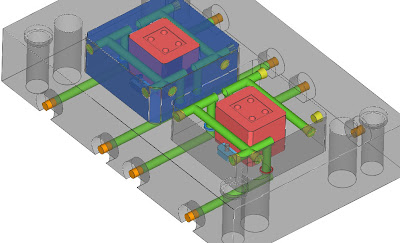Injection Mold Design Tutorial, Technology and Engineering: Construction of  Cavity Cooling and Mold Base Cooling, O ring