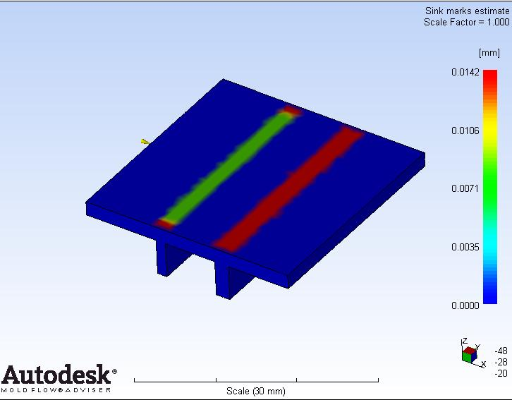 wall thickness and sink mark estimation ~ Injection Mold Design