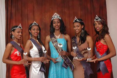 MISS ETHIOPIA Org: ETHIOPIAN MILLENNIUM QUEENS CROWNED  MISS ETHIOPIA O...