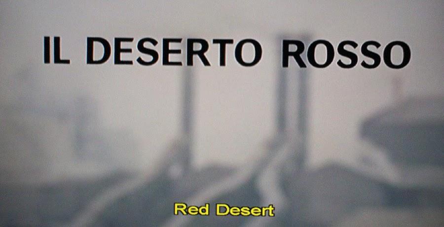 transcendental phenomenology and antonioni's red desert