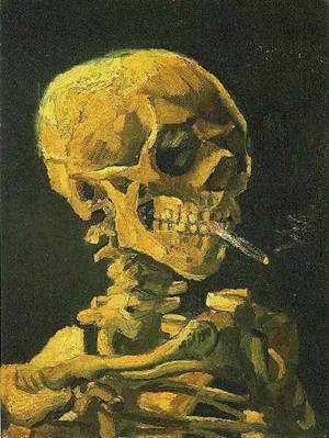 Van Gogh: o Suicidado pela Sociedade, por Antonin Artaud Leo%20Van%20Gogh%20Esqueleto%20Fumando%20um%20Cigarro%20(Antuérpia,%20inverno%201885-1886)