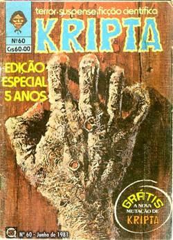 Revista Kripta - #1, #5 e #7 Edição%2060