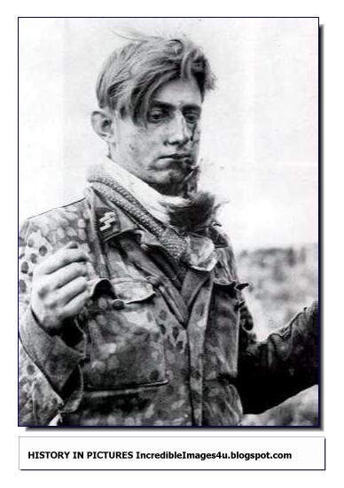 Surrendered Waffen SS fighter