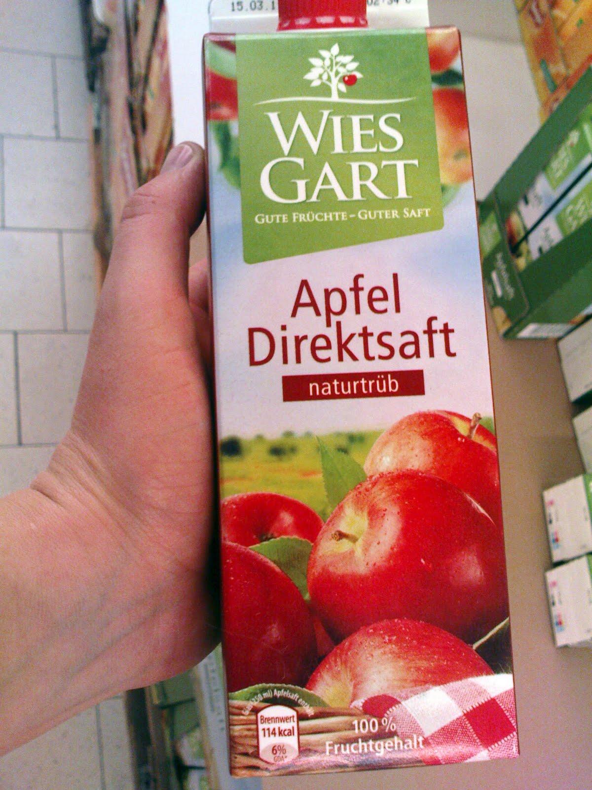 veganer Apfelsaft bei den Discountern Aldi Nord und Süd sowie Lidl ...