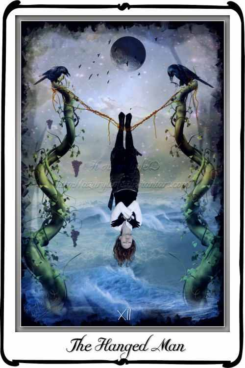 The Hanged Man Predictive Tarot Card Meanings: A Tarot Card: The Hanged Man