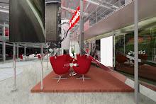 perodua car showroom (final project diploma in interior design)