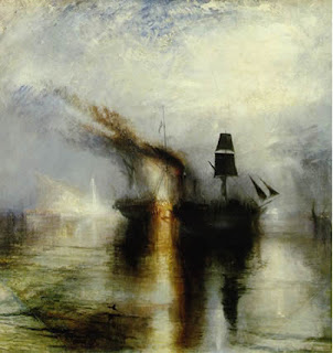 Exequias en el mar - William Turner