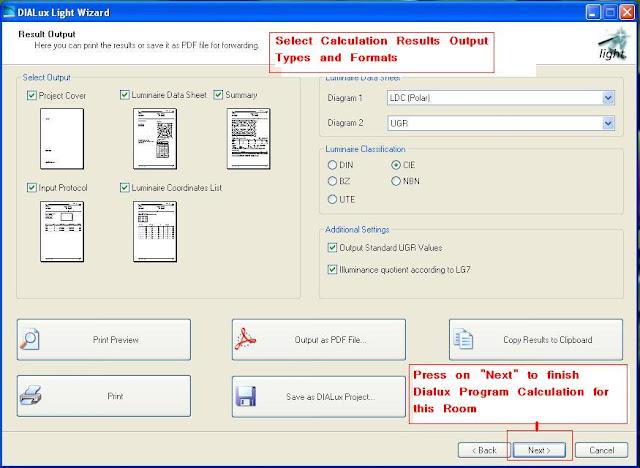 Dialux lighting software manual