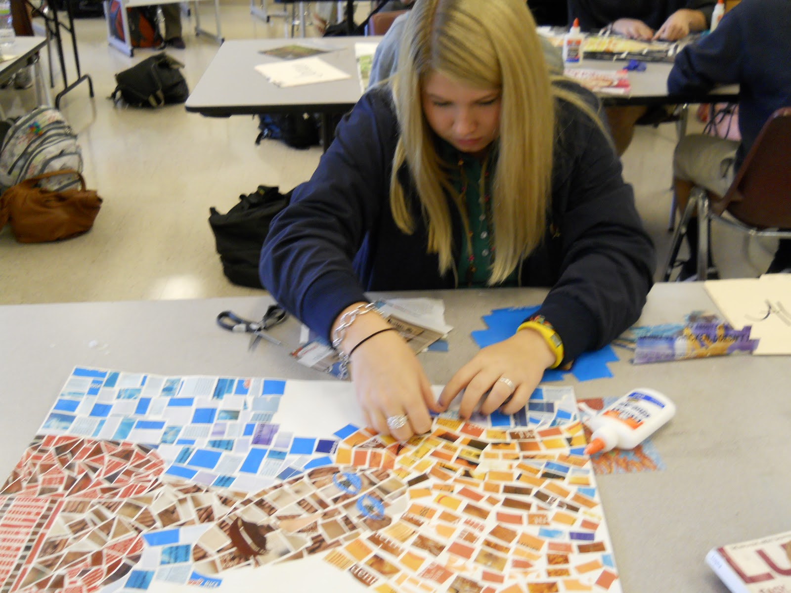 CREATIVE EXPRESSIONS: High School Art Students-Drawing