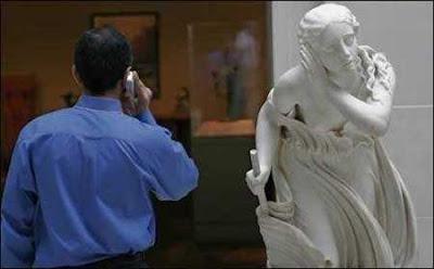 telefono / escultura