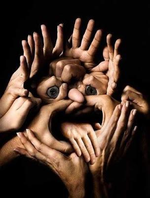 manos / cara