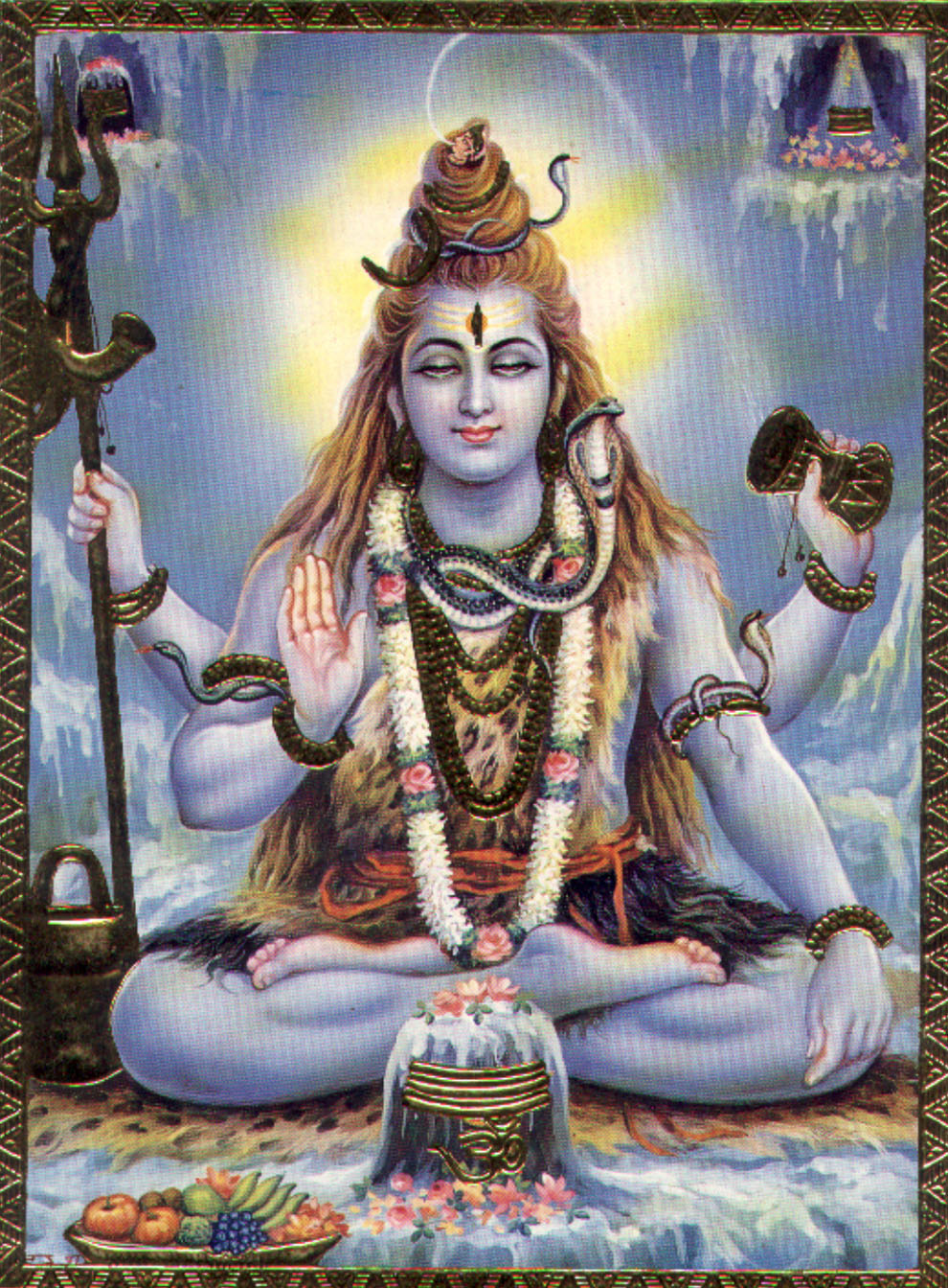 Indian God Photographs Shivji