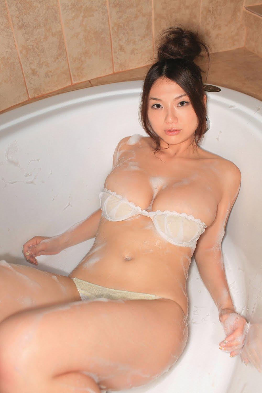 Katsumi blowjob, titty fuck
