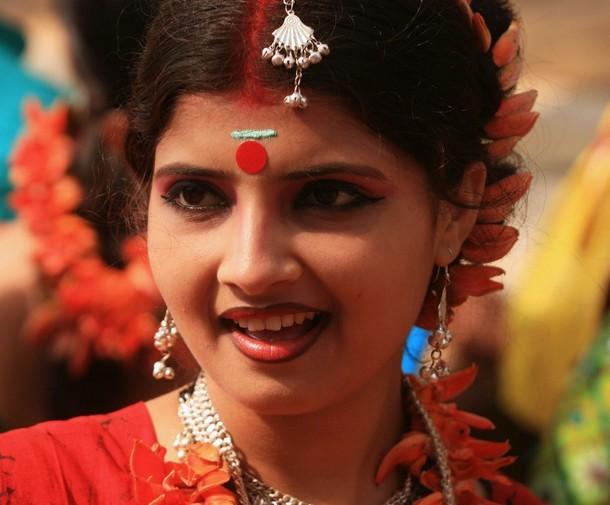 Basanta Utsav Shantiniketan Holi images