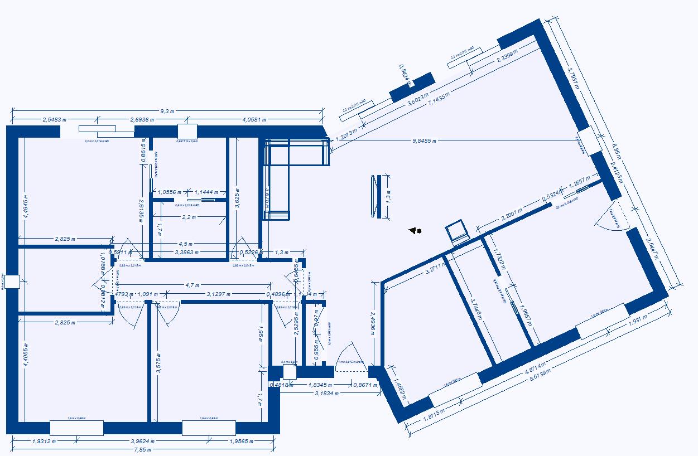 plan maison 70m2 plein pied. Black Bedroom Furniture Sets. Home Design Ideas