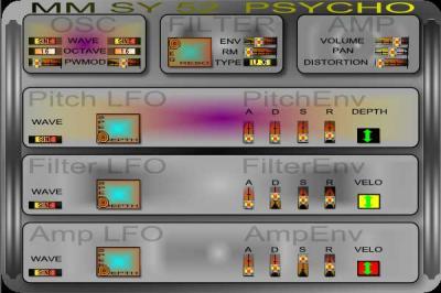 MM SY 52 Psycho Synth .  vsti gratuit