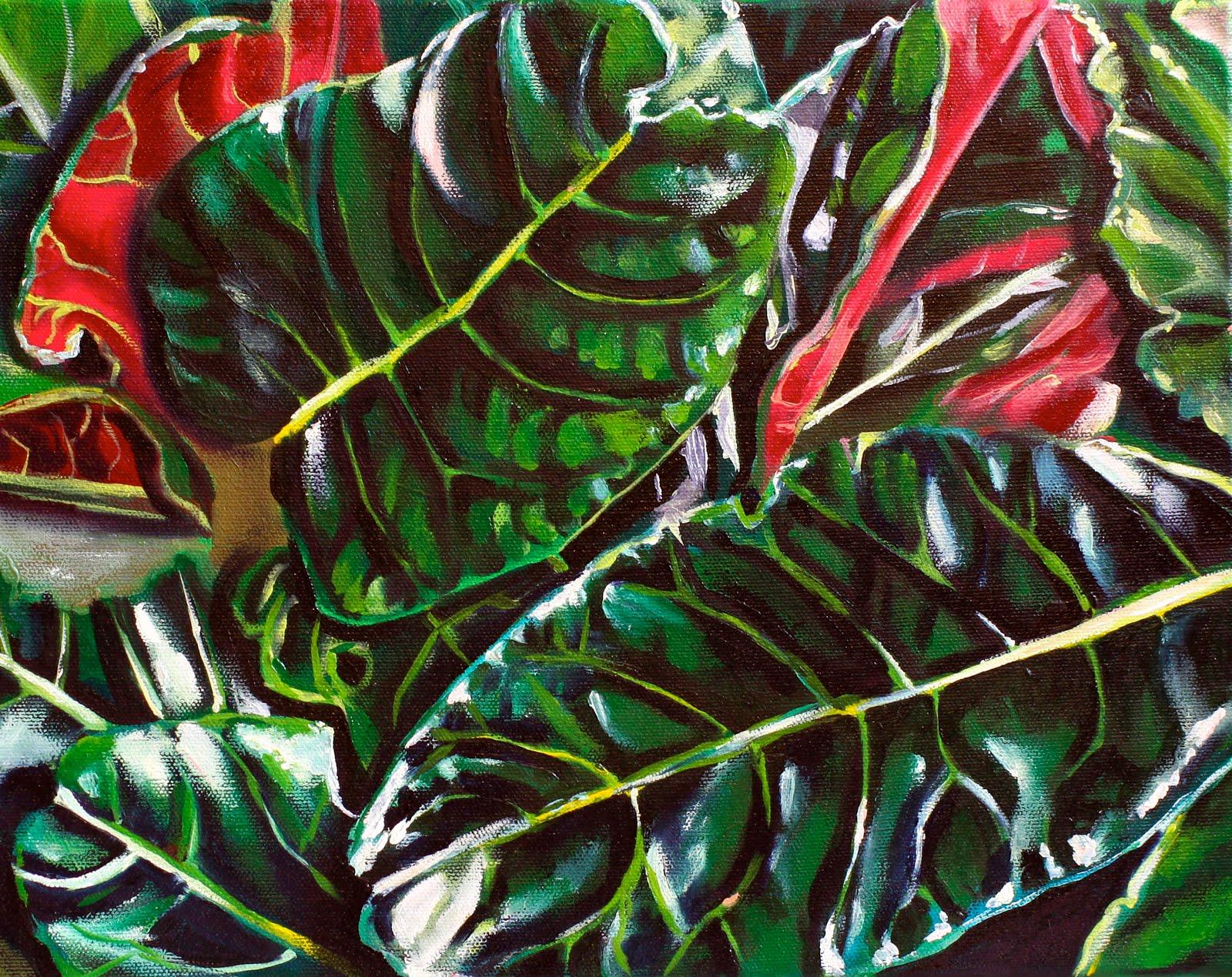 Shana Squier Fine Art Sold Quot Heliconia Iii Quot Hawaiian