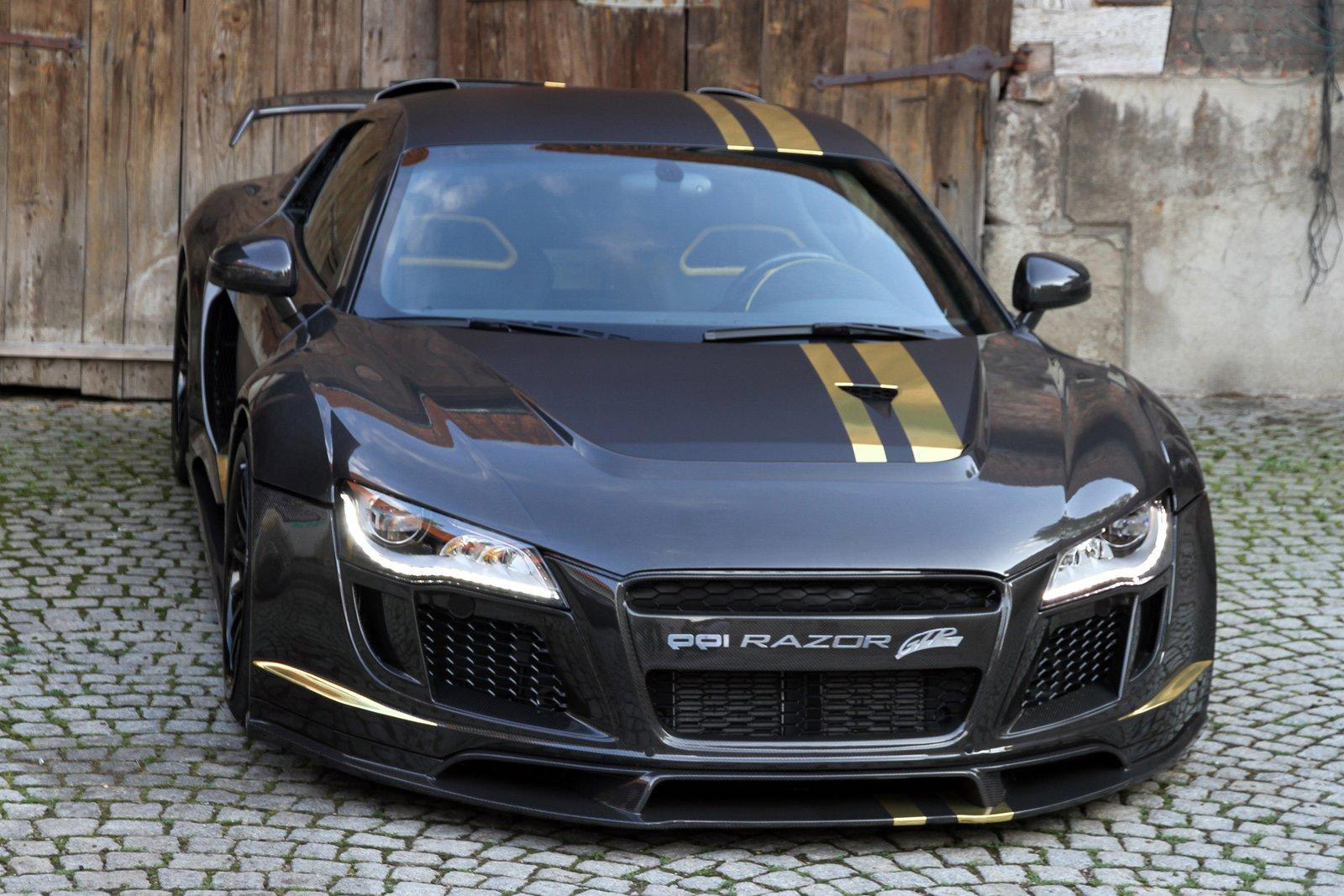 Ppi Razor Gtr on Audi R8 Regula