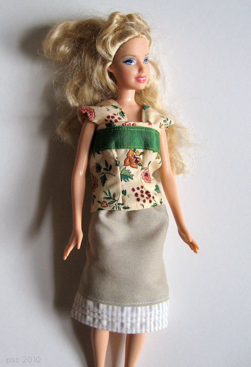 Pickup Some Creativity Barbie Doll Clothes