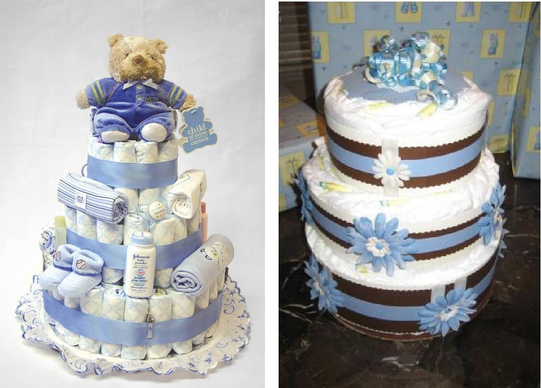 Como Hacer Un Diaper Cake