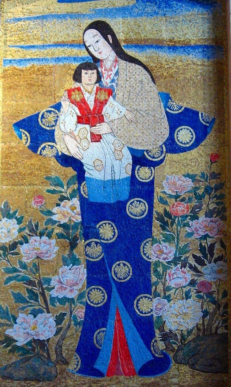 mosaic japan_New Liturgical Movement: Japanese Madonnas