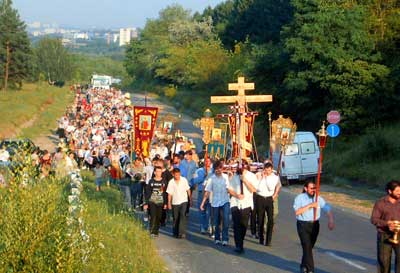 The Procession of the Holy Cross