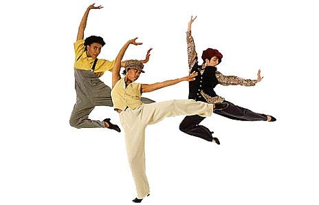 Dance Clipart (A): Jazz Dance Clip Art