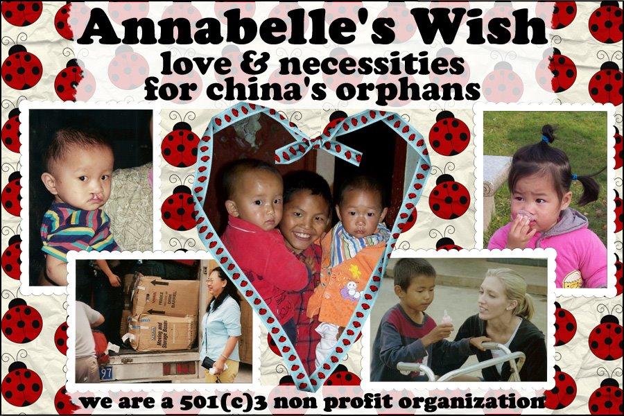 Annabelle's Wish Inc. A Non-Profit organization