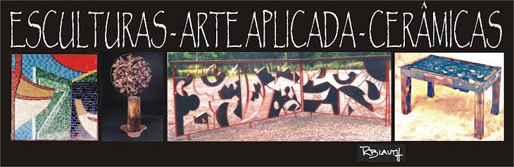 ESCULTURAS - ARTE APLICADA - CERÂMICA