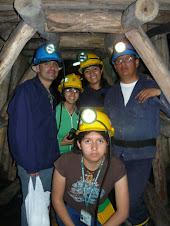 visita a la mina