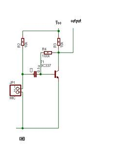 Tenet Technetronics: Amplifier circuit for microphone