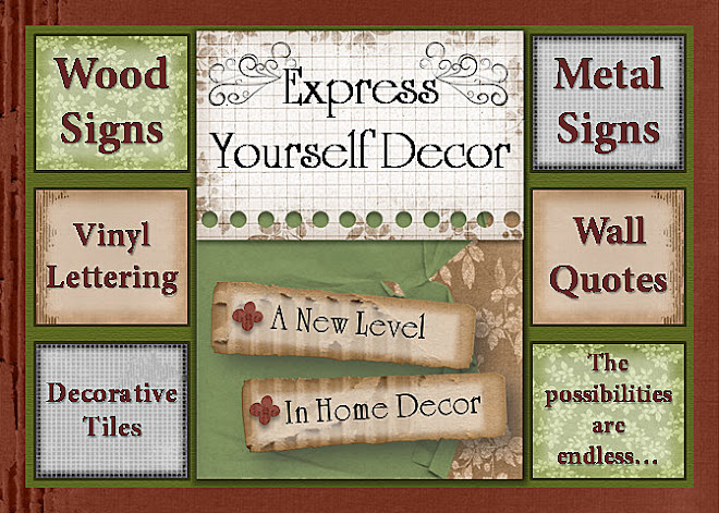 Express Yourself Vinyl Decor