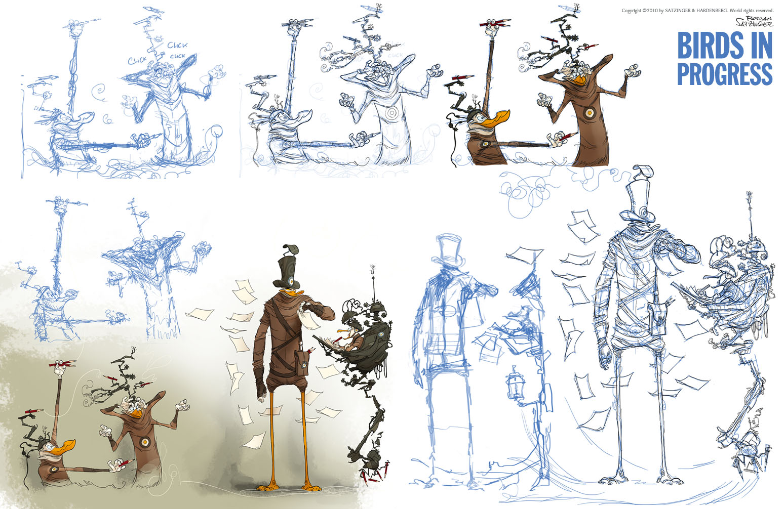Character And Creature Design Notes Florian Satzinger