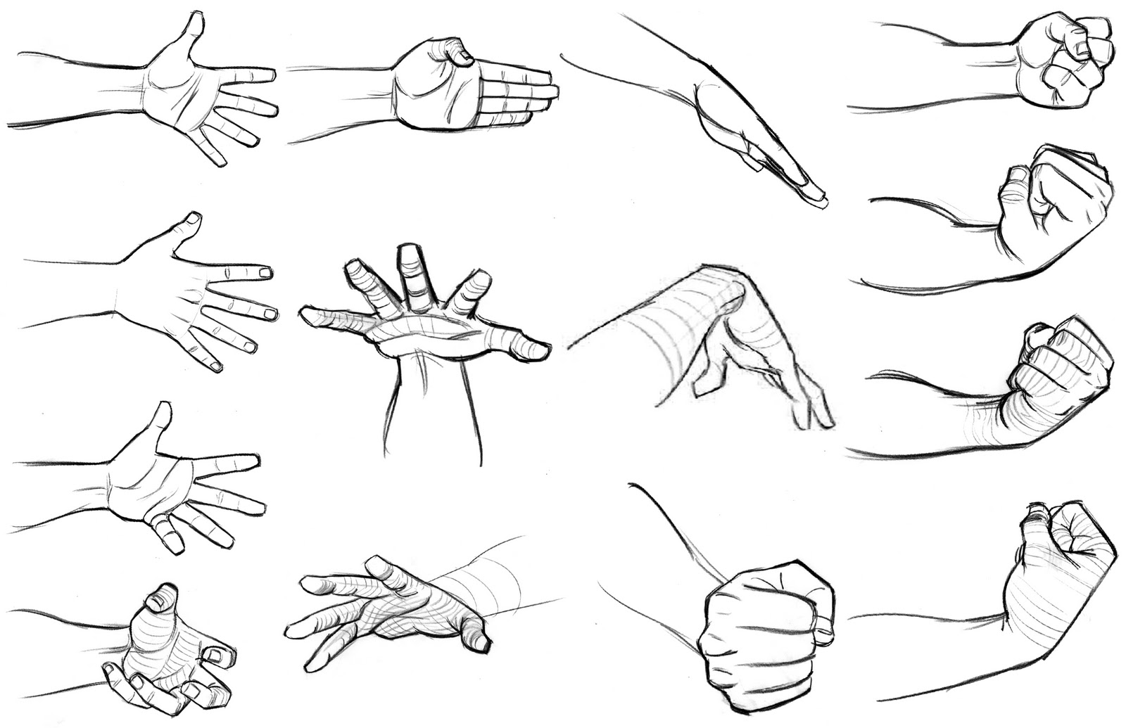 This is a picture of Lucrative Hand Drawing Poses