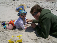 Baby Robert and Daddy at LBI