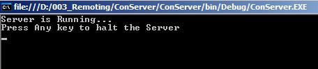 Remote Server session