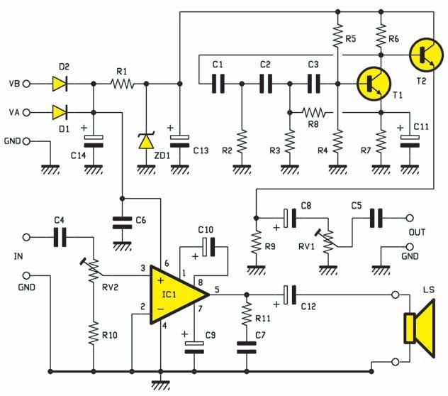 un traceur de signal avec g n rateur injecteur schema