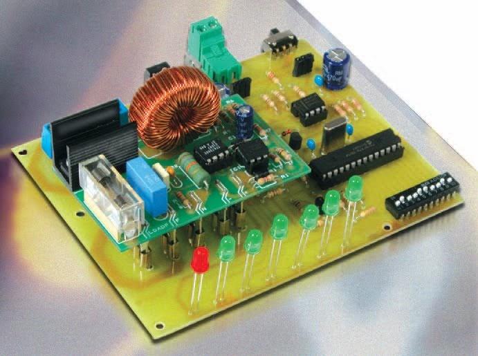 un variateur de puissance au standard dmx512 schema electronique net. Black Bedroom Furniture Sets. Home Design Ideas